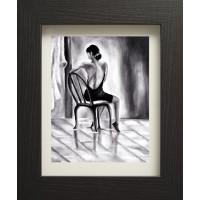 Women Sitting in Chair